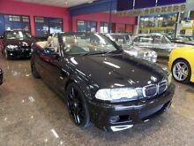2002 BMW 330CI E46 Black 5 Speed Auto Steptronic Convertible South Melbourne Port Phillip Preview