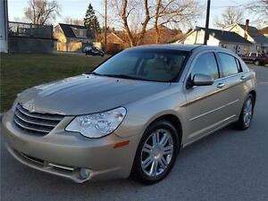 2009 CHRYSLER SEBRING LIMITED | LEATHER |CHROME WHEELS| WOODTRIM