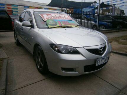 2007 Mazda 3 BK MY06 Upgrade Maxx Silver 4 Speed Auto Activematic Sedan Preston Darebin Area Preview
