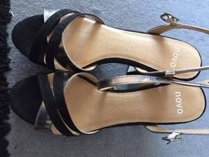 Womens brand new Black Novo Shoes Auchenflower Brisbane North West Preview