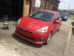 2012 Toyota Prius c Technology LEATHER LOADED CERTIFIED
