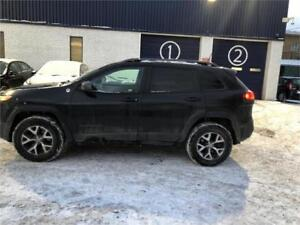 2016 Jeep Cherokee Trailhawk-FULL-AUTOMATIQUE-MAGS-4X4