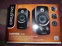 Creative Inspire T10 MP3 speakers