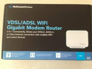 NetComm Wireless NF4V Modem Router Bar Beach Newcastle Area Preview