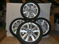 BMW 1 SERIES ALLOY WINTER WHEELS AND TYRES