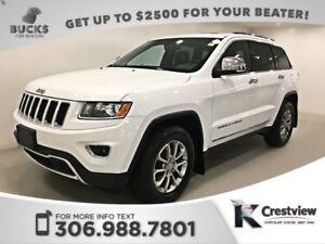2014 Jeep Grand Cherokee Limited V6 | Sunroof | Navigation