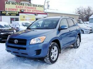 REDUCED! 2011 TOYOTA RAV4 SPORT 4X4 SUNROOF AUTO-100% FINANCING!