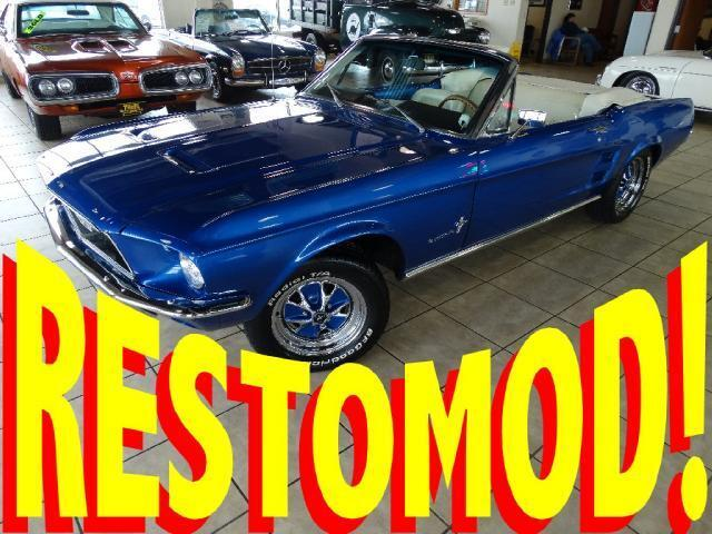 Ford : Mustang Convertible FUEL-INJECTED RESTOMOD 5-SPEED CONVERTIBLE RESTORED CALIFORNIA CAR! 64 65 66 67