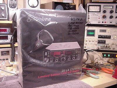Cobra 29LX T/P/A  V-Mod/TB.Rec/D-Echo <BLACK COVERS >