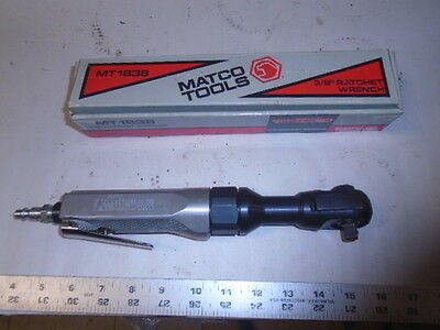 Machinist Mechanics Matco Pheumatic 38 Drive Ratchet Wrench In Box