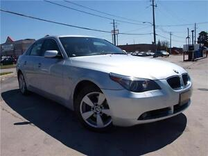 2007 BMW 5 Series 525xi NO ACCIDENTS, CANADIAN VEHICLE!