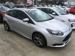 2014 Ford Focus ST silver manual gearbox TURBO