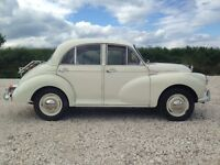 1966 Morris Minor 1000 Deluxe Model 4dr