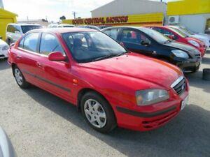 2005 Hyundai Elantra XD FX Red 4 Speed Automatic Hatchback