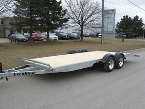2017 EXCALIBUR GALVANIZED 3.5 TON CAR HAULER TRAILER