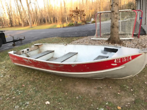Springbok 12ft Aluminum Boat priced to sell $200