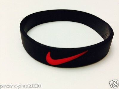 Nike Sports baller silicone wristband. blk/red logo Buy 3 get 2 Free or Buy 2 ge