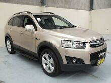 2012 Holden Captiva CG Series II 7 CX (4x4) Gold 6 Speed Automatic Wagon Gateshead Lake Macquarie Area Preview
