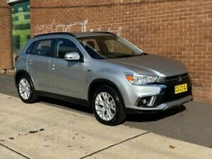 2019 Mitsubishi ASX XC MY19 ES (2WD) Silver Continuous Variable Wagon Phillip Woden Valley Preview