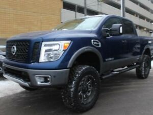 2017 Nissan Titan PRO-4X: 6 INCH LIFT PACKAGE, AFTERMARKET OFF-R