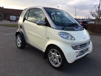 Smart city coupe passion soft touch automatic great little car