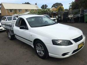 2007 Ford Falcon BF MkII XL (LPG) Tradesman White 4 Speed Auto Seq Sportshift Cab Chassis Campbelltown Campbelltown Area Preview