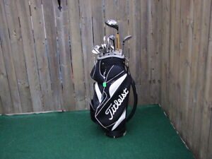 Men's Right hand Golf sets Titliest with Titliest golf bag