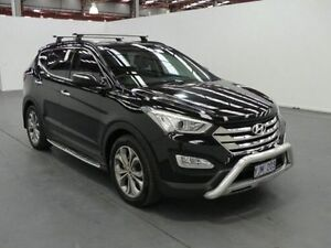 2013 Hyundai Santa Fe DM Highlander CRDi (4x4) Black 6 Speed Automatic Wagon Fyshwick South Canberra Preview