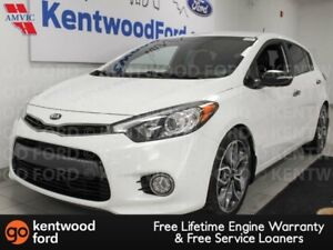2014 Kia Forte 5-Door SX FWD with heated seats and a back up cam