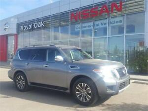 2017 Nissan Armada SL 4WD 5.6L **LOADED WITH OPTIONS**