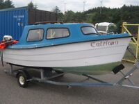 Small boat (15ft) for sale.