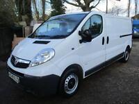 2013 Vauxhall Vivaro 2.0CDTi 115ps LWB 60,000 MILES NO VAT FSH