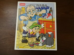 1990's wooden DISNEY puzzles - 9 available