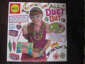ALEX Toys - DIY Wear! All Duct Out Jewelry Making Kit. Kids 7+. NEW, Sealed. Great Gift.