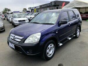 2005 Honda CR-V 2005 Upgrade (4x4) Blue 5 Speed Manual Wagon Cheltenham Kingston Area Preview