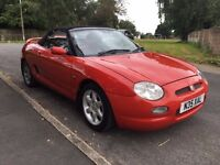 MG MGF sports convertible nice cheap convertible with 12 months mot