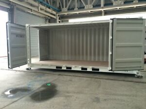 20ft Full Side-Open Container ~ brand new, one-trip 6 door Cambridge Kitchener Area image 6