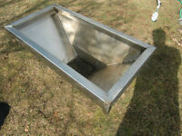 Exhaust hood - stainless