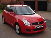 2009 Suzuki Swift 1.3 ( 91bhp ) GL 5dr Red Petrol Maunal Only 41k Miles