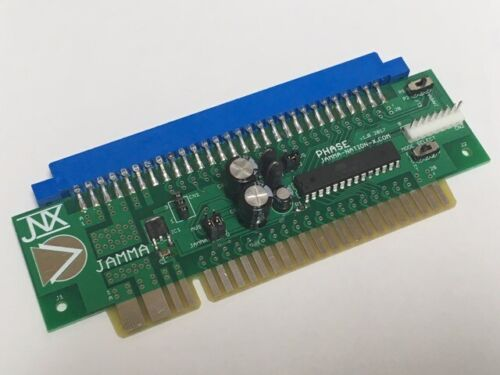 JNX Phase - JAMMA to MVS Adapter CPS1 CPS2 NeoGeo 6 Button to 4 Button Adapter