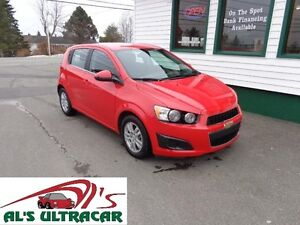 2016 Chevrolet Sonic LT Hatchback only $113 bi-weekly all in!