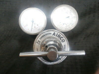 Airco 8069675 Gas Regulator W Guages