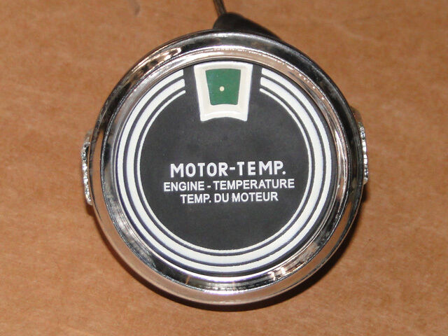 Fernthermometer mit mechanische Temperaturanzeige für Lüftgekühlte Motoren (4) Foto 1