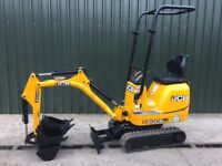 JCB 8008 CTS, YEAR 2014, 704 HOURS, 3 BUCKETS, MICRO DIGGER MINI EXCAVATOR