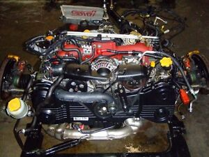 JDM SUBARU STI VERSION 7 EJ20T ENGINE TRANSMISSION ECU BREMBO