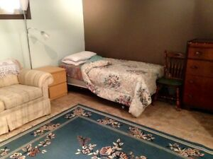 Furnished Rec Room for Rent