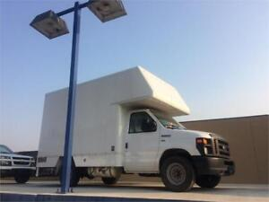 2013 FORD E-350 CUBE VAN *ONE OWNER,  Thousands of $$Aluminum