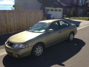2002 Nissan Sentra Sedan (LOW MILEAGE)