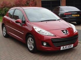 2011 Peugeot 207 1.4 75 Envy 3dr Red Petrol Maunal Only 55k Miles