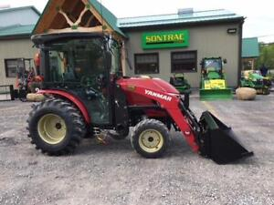 2016 YANMAR YT235 COMPACT WITH LOADER – DEMO UNIT